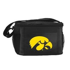 NCAA 2014 6 Pack Cooler Lunch Tote (Iowa Hawkeyes)