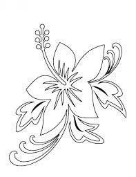 Resultado de imagen para flores y hojas para colorear | Diseño
