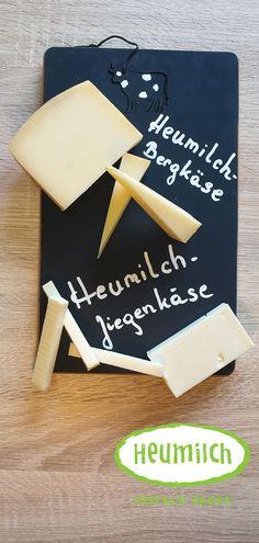 Upcycling: cooles Heumilch-Käsebrett in Tafeloptik Yogurt Cups, Hay, Boards, Milk, Hang In There, Packaging, Repurpose