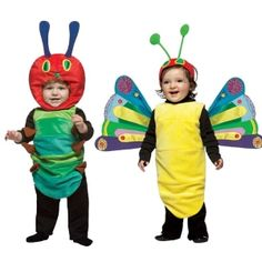 The Very Hungry Caterpillar Costumes for Twins