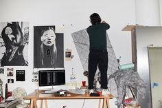 UO Studio Visits: Michael Tessier - Urban Outfitters - Blog