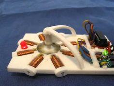 DIY 3D Printing: Working 3d printed DIY programmable stepper motor by Christopher Hawkins