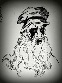 Da Vinci black metal. Someone was TRVE before you.