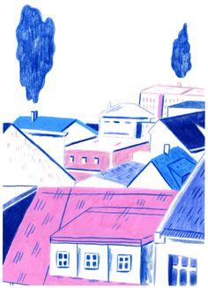 reykjavík roof tops