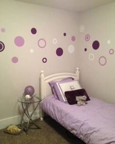 3 Colors Poka Dots Wall Decals Rings and Circles by WildEyesSigns, $50.00
