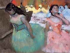 The Entrance of the Masked Dancers, Edgar Degas, Gallery: Sterling and Francine Clark Art Institute at Williamstown, MA, USA Edgar Degas, Degas Ballerina, Post Impressionism, Impressionist Art, Manet, Renoir, Degas Dancers, Ballet Dancers, Ballet Art