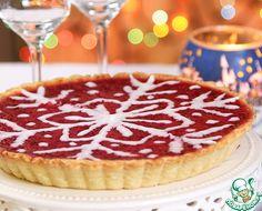 Новогодний клюквенный пирог ингредиенты