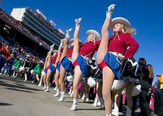 Kilgore College Rangerettes face kicks and jump splits, honor and tradition