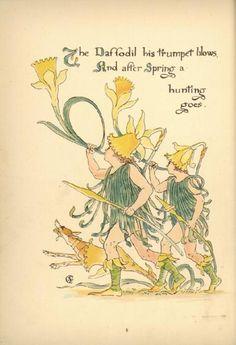 Flora's Feast (V) - Walter Crane.