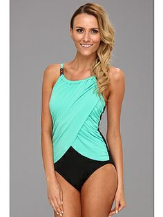 80672cf96a7 Magicsuit solid lisa one piece pistachio at 6pm.com