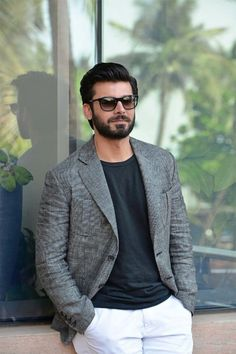 Happy Birthday, Fawad Khan: 7 Pictures Of The Heartthrob Blazer Outfits Men, Portrait Photography Men, Mens Fashion Wear, Bollywood Photos, Stylish Boys, Beautiful Girl Indian, Fashion Seasons, Hair And Beard Styles, Handsome Boys