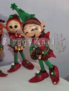 Christmas Holidays, Christmas Crafts, Christmas Decorations, Christmas Ornaments, Holiday Decor, Foam Crafts, Diy And Crafts, Santas Workshop, Cake Toppers