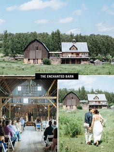 The Enchanted Barn in Hillsdale, Wisconsin