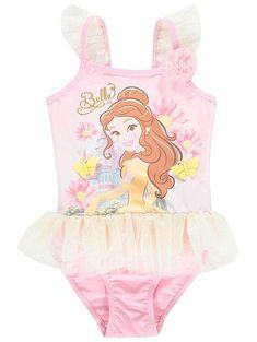 9833b88243b12 Disney Princess Belle Tutu Swimsuit Belle Tutu, Disney Girls, Disney Love,  Disney Stuff
