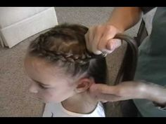 How to do a swirl french braid