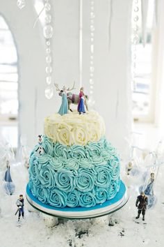 Pin for Later: A Stunning Frozen-Themed Birthday Party Even Elsa Would Approve