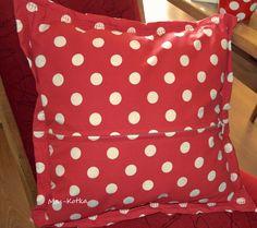 Handmade pillowcase Polka Dot Top, Pillow Cases, Throw Pillows, Handmade, Women, Polka Dot Shirt, Cushions, Hand Made, Decorative Pillows