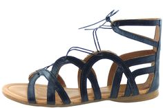 Green Casuals Women's Leather Shoes Sandals Flats Artisan Gladiator Sandal Flat (Narrow) ** To view further, visit now : Gladiator sandals