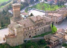 Castello di Levizzano di CASTELVETRO  - Antica fortezza medioevale trasformata in dimora signorile.