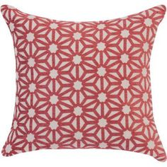 Better Homes and Gardens Pinwheel Decorative Toss Pillow 18 inch x 18 inch, Ruby, Red Yellow Wall Decor, Yellow Walls, New Living Room, Living Spaces, Dorm Shopping, Toss Pillows, Better Homes And Gardens, Pinwheels, Decorative Pillows