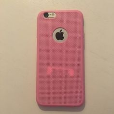 {Sale} Light Pink iPhone 6/6s cell phone case Light Pink iPhone 6/6s cell phone thick rubber case. Price Firm bundle for discount . 2 Items 10% Off 3 + Items 15% Off GlamVault Accessories Phone Cases
