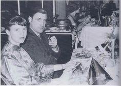 Sylvia Plath and Ted Hughes.
