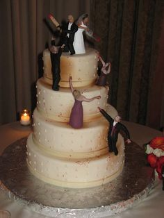 Definitely my future wedding cake topper! (...maybe w/out all the blood)