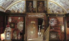 Treasure chamber at Forchtenstein Castle (Burg Forchtenstein), Burgenland, Austria Feldkirch, Armoire, Liquor Cabinet, Images, World, Beautiful, Home Decor, Art History, Austria