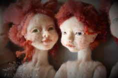 I have been trying to fight many of my insecurities lately, but I am happy to announce I will be participating the Doll Prague exhibition of I was late to register last year and it was all. Needle Felted, Felt Dolls, Felt Art, I Am Happy, Cool Art, Artsy, Christmas Ornaments, Holiday Decor, Pictures