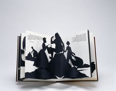 Freedom, A Fable, 1997, Pop-up paper cut-outs, serif type on Classic Crest Cover, leather 9 ½ x 8 ¼ in. (closed), Edition of 4,000