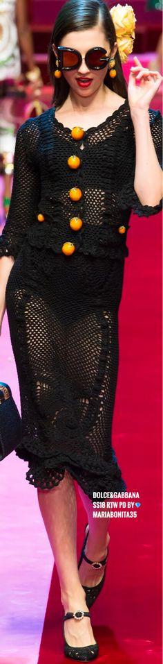 Dolce & Gabbana SS18 RTW