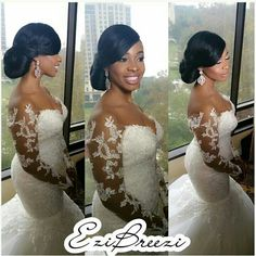 This wedding dress is EVERYTHING!!!