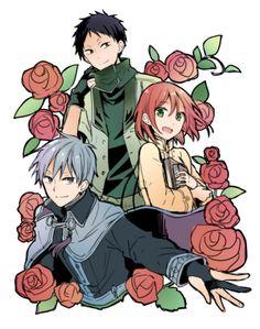 Zen, Shirayuki & OBI