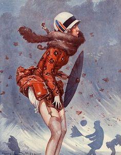 Maurice Milliere | ILLUSTRATION |  For La Vie Parisienne | 1920s