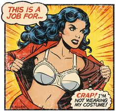 this is a job for... super bra!