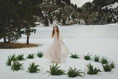 Winter boho wedding ideas from Spain