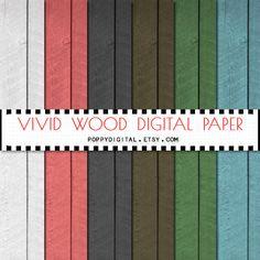 Wood digital paper  wood background rustic wood by SvetaNDesign