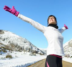 Prevent Burning Lungs on Cold-Weather Runs With This Trick