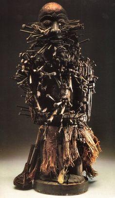 Shamans and Shamanism ART Power Figure (Nkisi Nkondi)