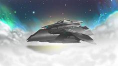 Spaceship by FREETIMEARTIST.deviantart.com on @deviantART