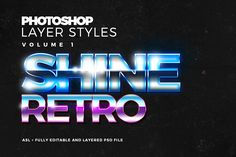 Free Photoshop Layer Styles  Download for free here: http://www.graphicdome.com/portfolio-items/photoshop-text-styles-set-1/