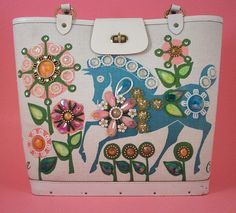 Enid Collins ~ Gift Horse bag