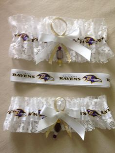 "Baltimore ""Ravens"" Garters by SportzNutty on Etsy"