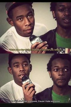 Tyler the Creator <3 I just love him :)