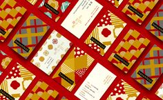 Branding on Behance Envelope Design, Red Envelope, Pattern Design, Print Design, Graphic Design, Packaging Design, Branding Design, Corporate Branding, Product Packaging