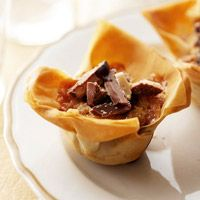 Browned Butter Toffee Tartlets
