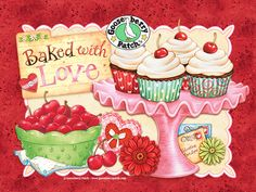 valentine cafe background