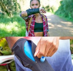 WetSleeve: A Water Bottle Bladder That Wraps Around Your Arm - here is where you can find that Perfect Gift for Friends and Family Members Gifts For Your Girlfriend, Gifts For Your Mom, Womens Fashion Online, Latest Fashion For Women, Modern Placemats, Unique Gifts For Women, Trendy Swimwear, Jogging, Fashion Accessories