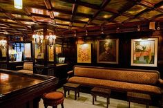 The Roger Room--across the street from us!