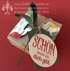 Herbstliche Box mit dem Envelope Punch Board